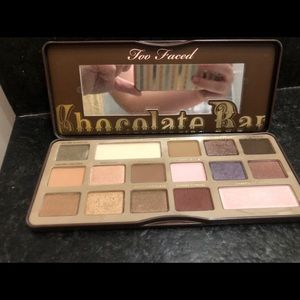 Too Faced Chocolate Bar- only swatched